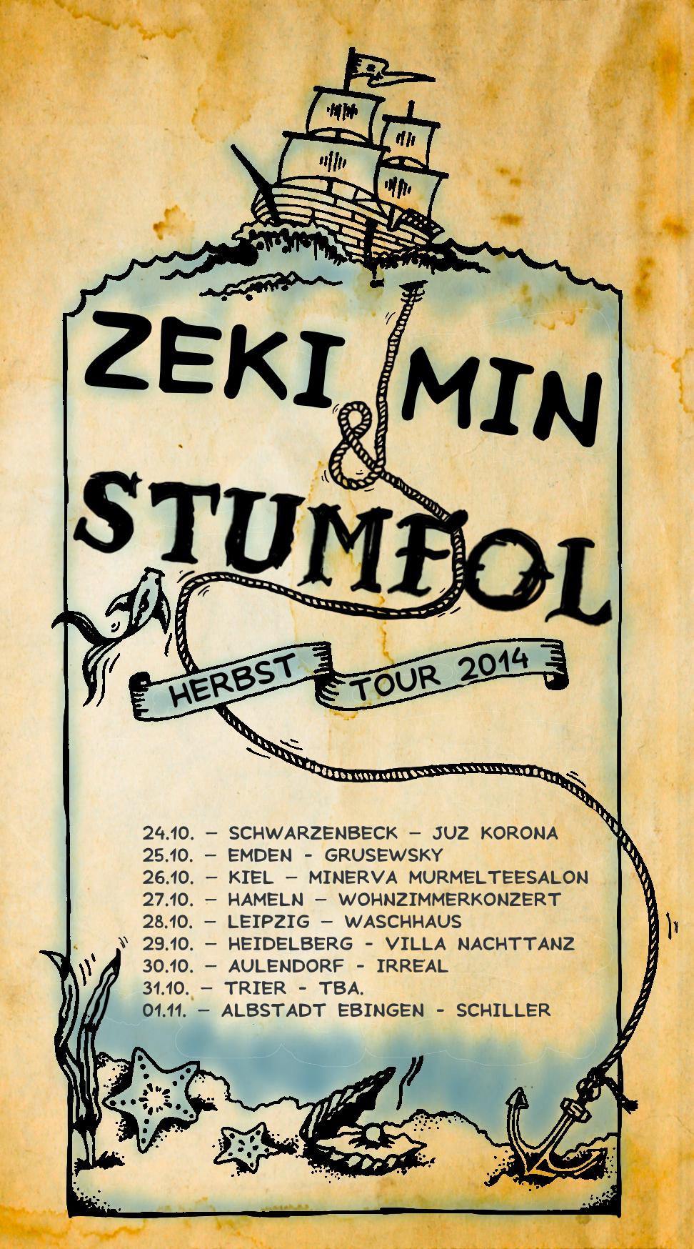 Autumn Tour Stumfol & Zeki Min